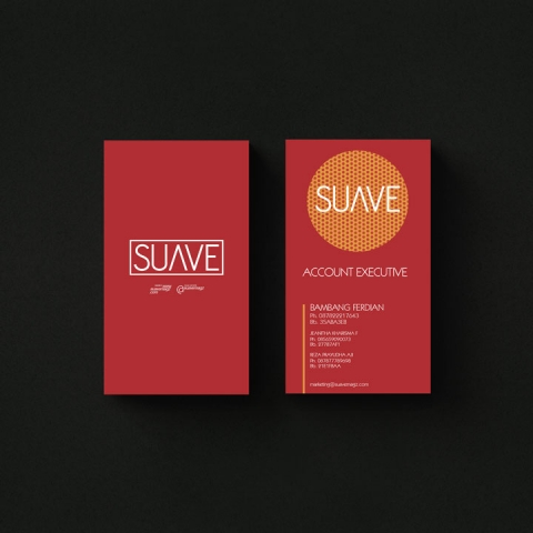 Suave Magazine – Business Card